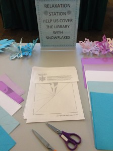 winter 2015 library relaxation station