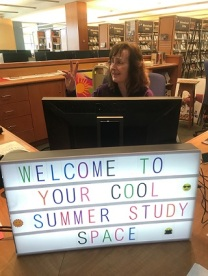 Welcome to your cool summer study place!
